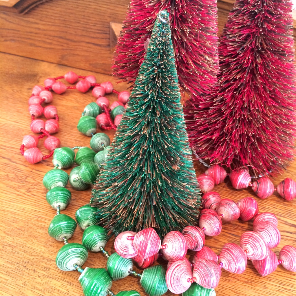 afribeads christmas tree